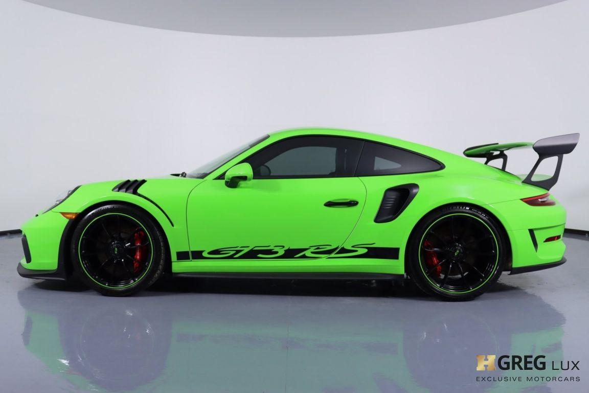 2019 Porsche 911 GT3 RS #23