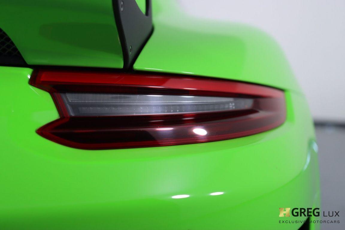 2019 Porsche 911 GT3 RS #21