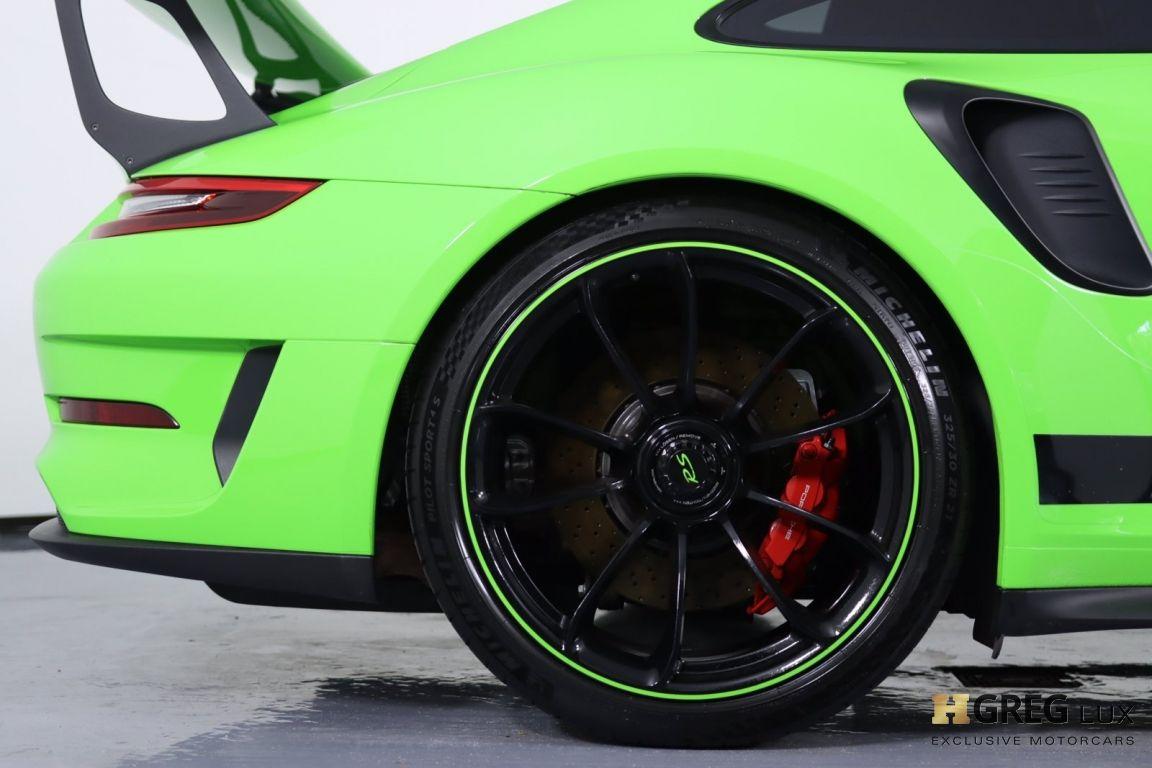 2019 Porsche 911 GT3 RS #14