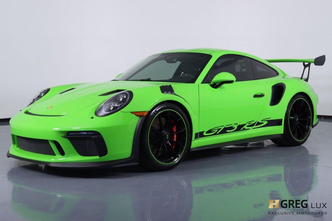 2019 Porsche 911 GT3 RS #30