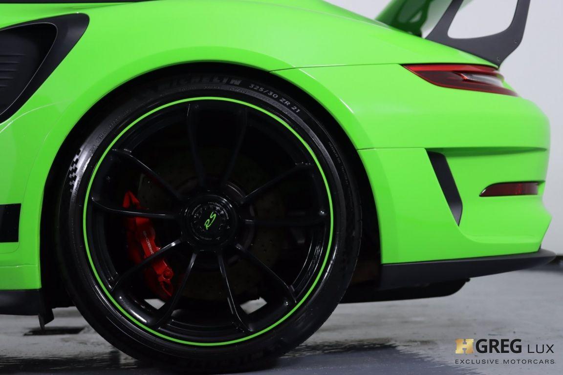 2019 Porsche 911 GT3 RS #27