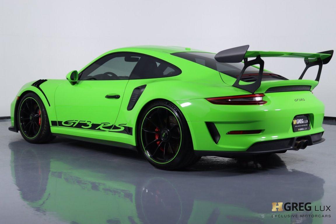 2019 Porsche 911 GT3 RS #22