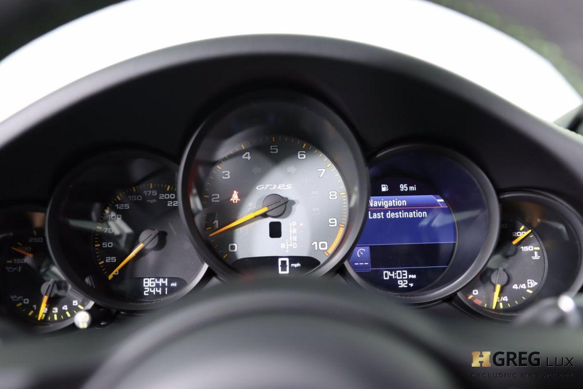 2019 Porsche 911 GT3 RS #46