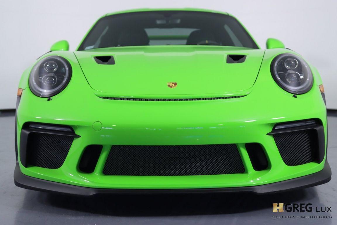 2019 Porsche 911 GT3 RS #3