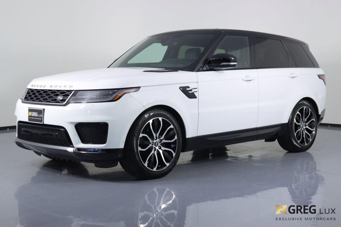 2019 Land Rover Range Rover Sport HSE #24