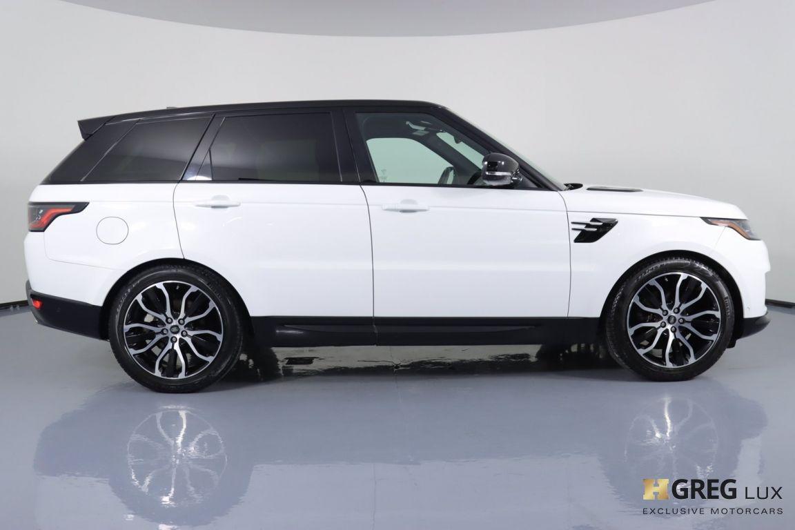 2019 Land Rover Range Rover Sport HSE #8