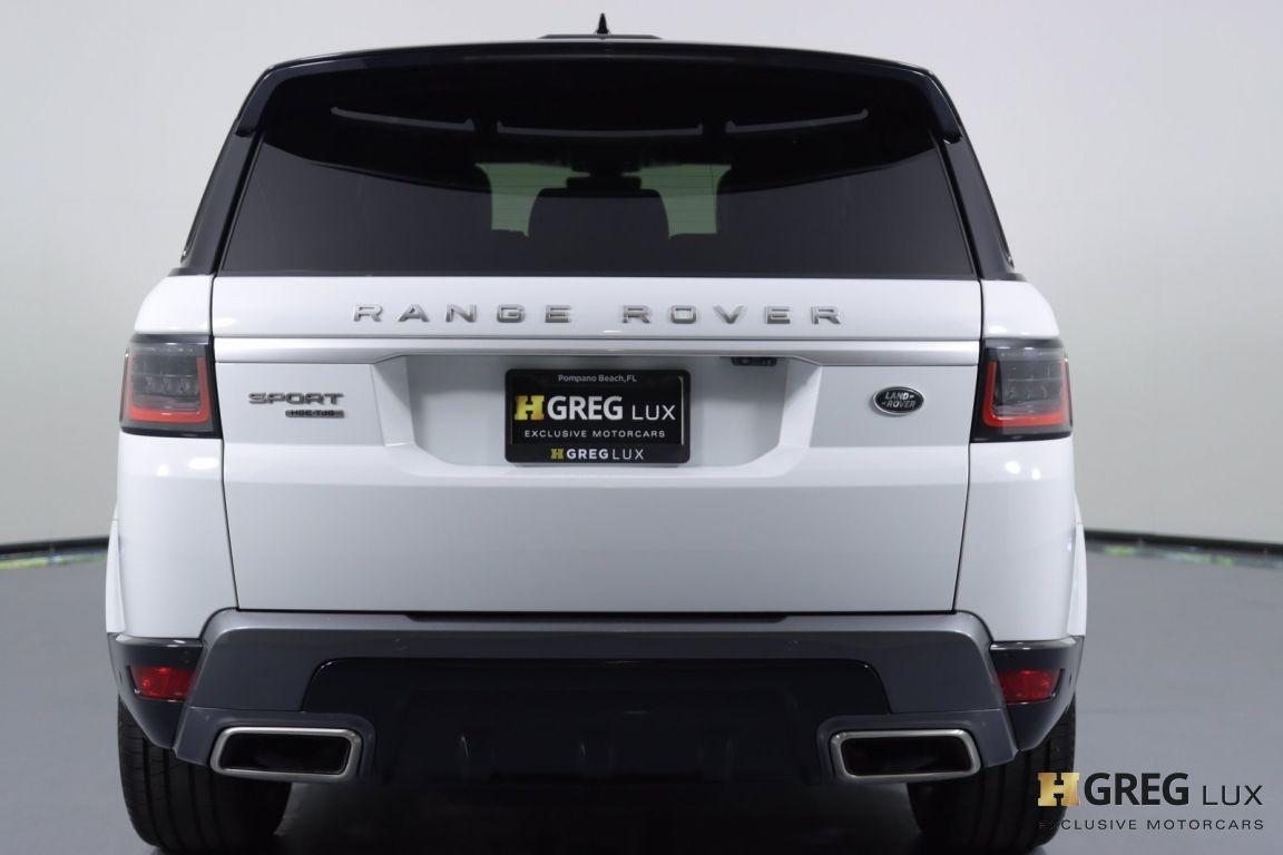2019 Land Rover Range Rover Sport HSE #14