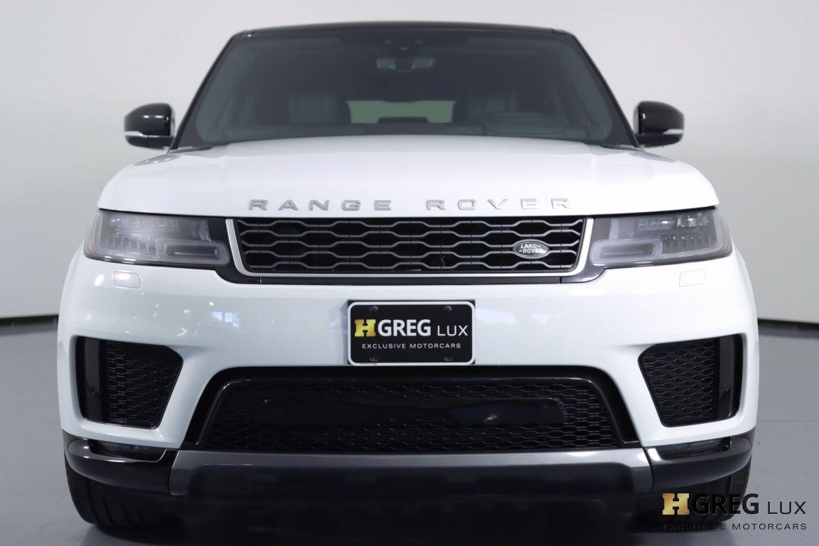 2019 Land Rover Range Rover Sport HSE #3