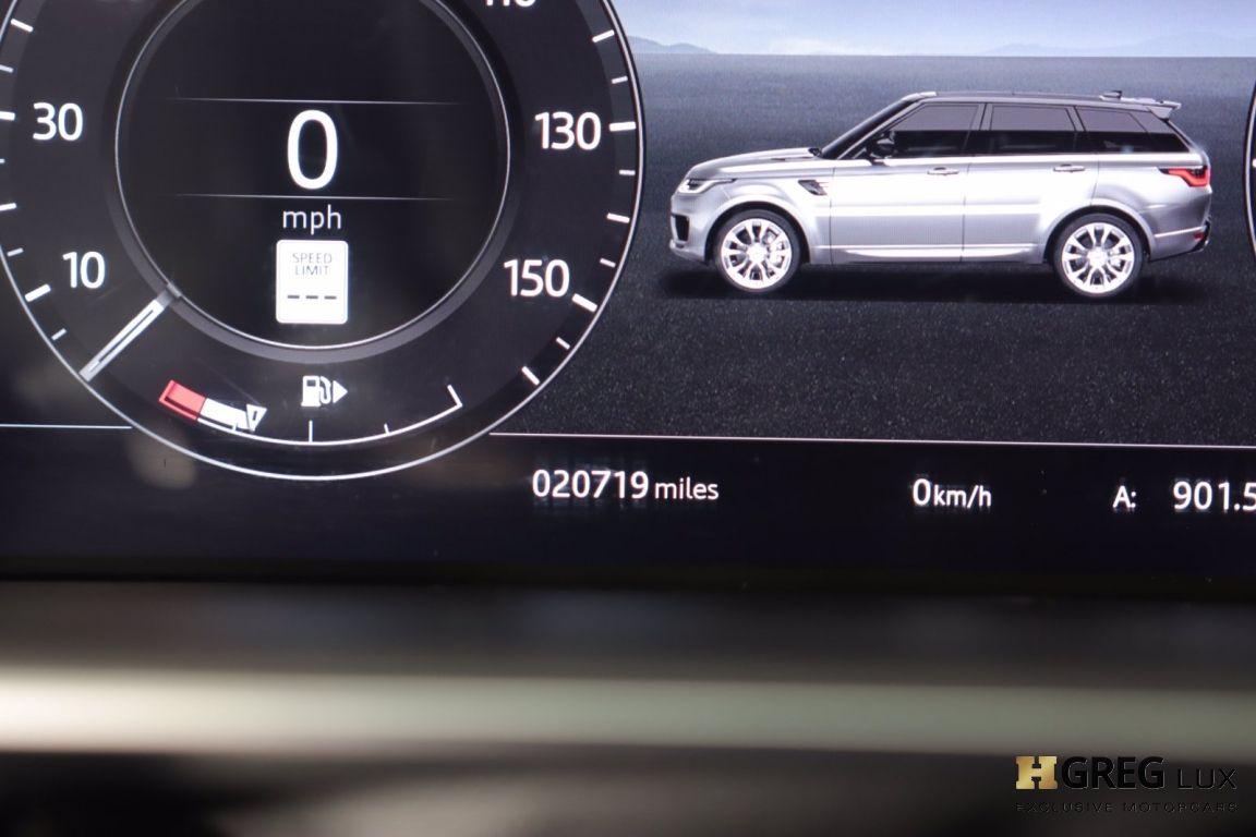 2019 Land Rover Range Rover Sport HSE #46