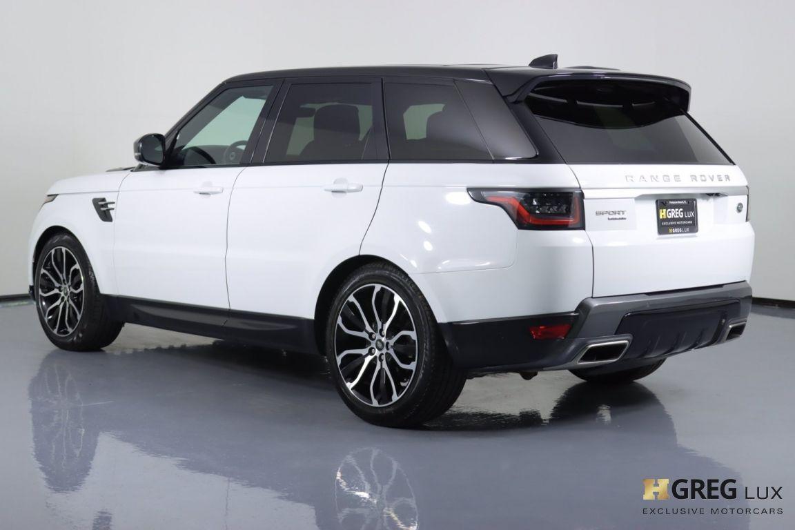 2019 Land Rover Range Rover Sport HSE #19