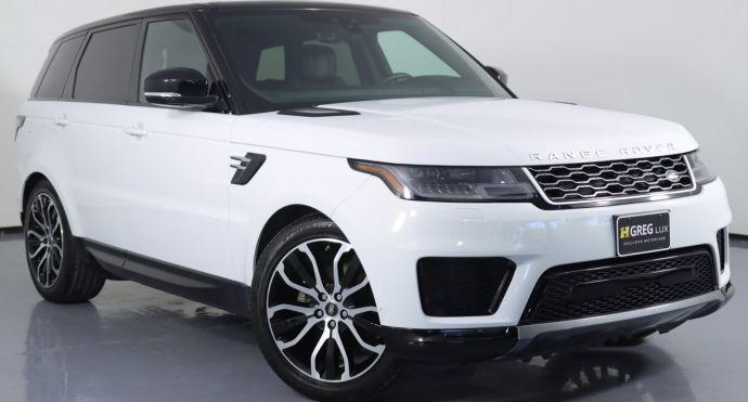 2019 Land Rover Range Rover Sport HSE #0