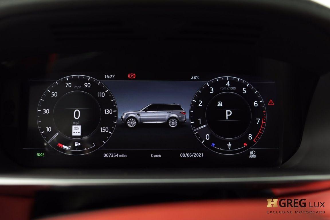 2020 Land Rover Range Rover Sport HST #47