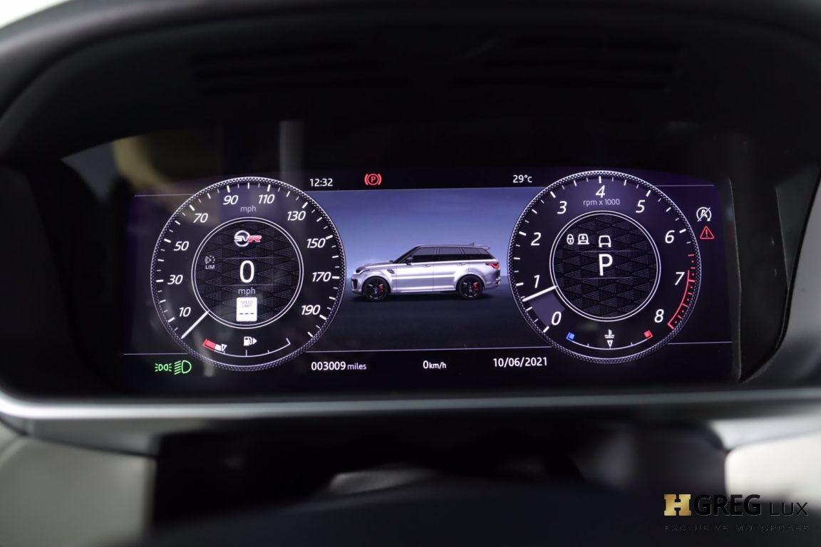 2021 Land Rover Range Rover Sport SVR #44