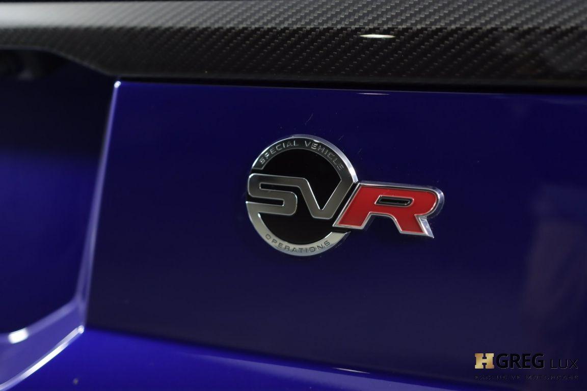 2021 Land Rover Range Rover Sport SVR #17