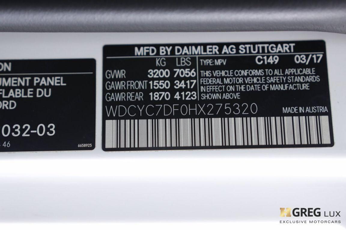 2017 Mercedes Benz G Class AMG G 63 #50