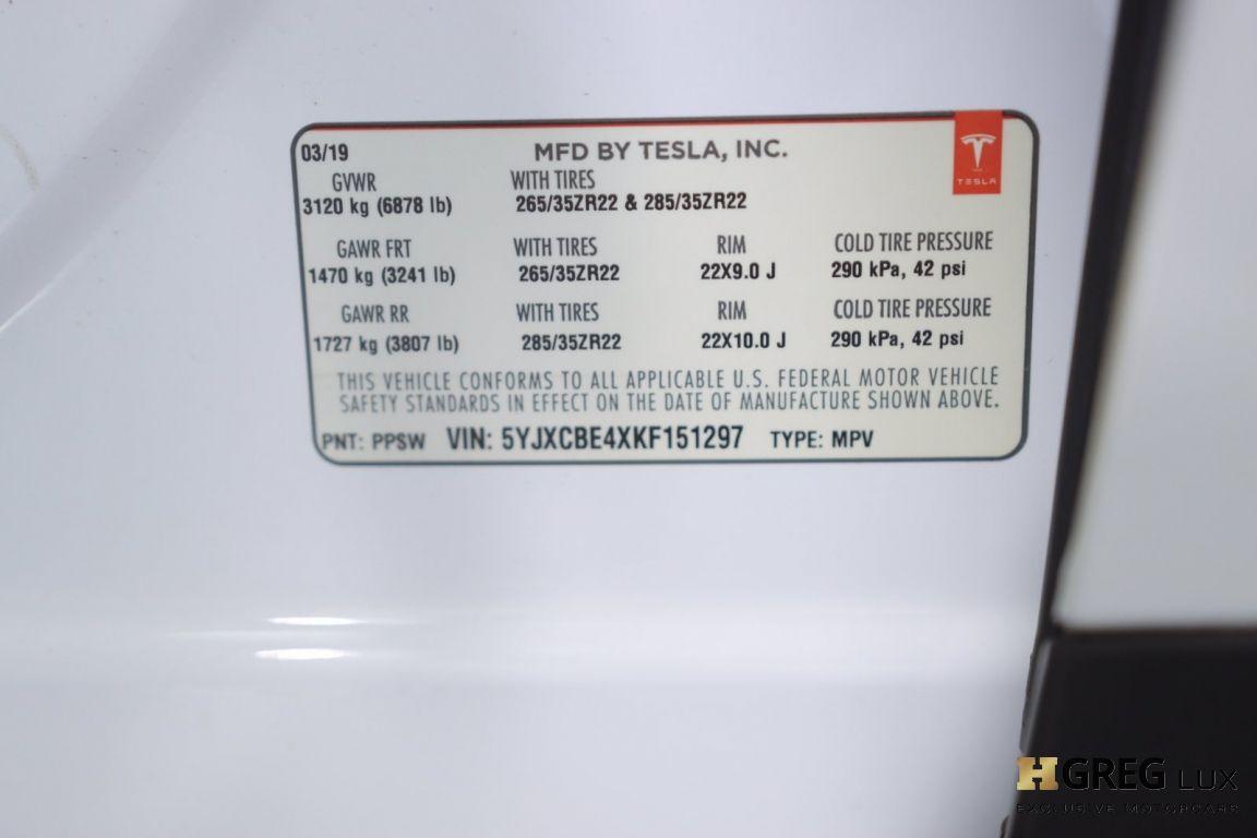 2019 Tesla Model X P100D #54