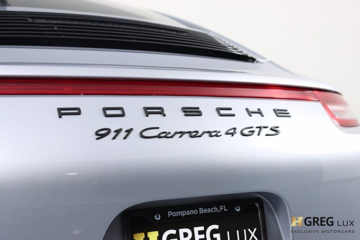 2015 Porsche 911 Carrera 4 GTS #22