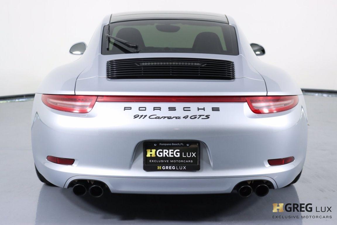 2015 Porsche 911 Carrera 4 GTS #19