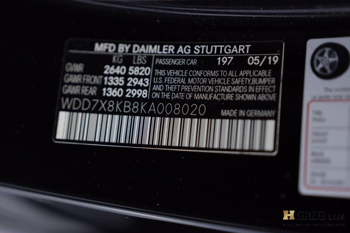 2019 Mercedes Benz AMG GT AMG GT 63 S #55