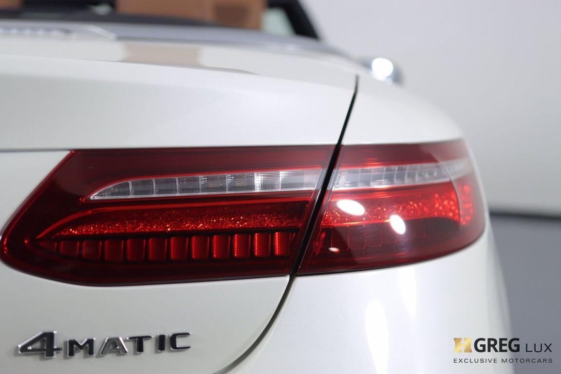 2018 Mercedes Benz E Class E 400 #20