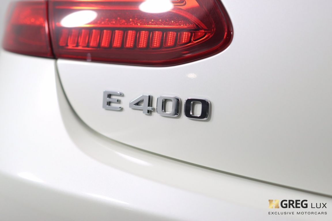 2018 Mercedes Benz E Class E 400 #21