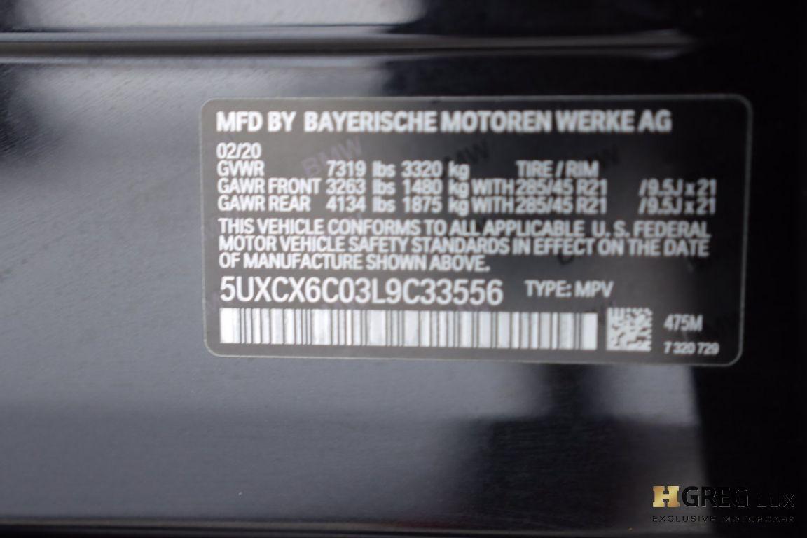 2020 BMW X7 M50i #63