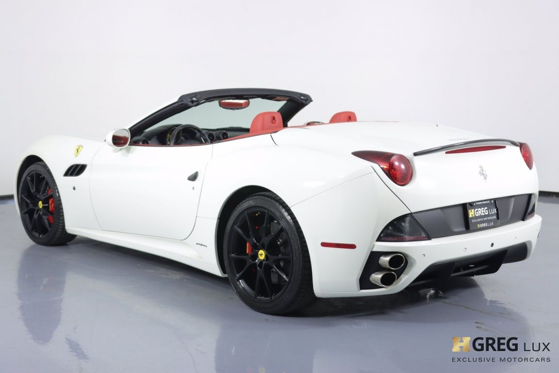 2012 Ferrari California  #22