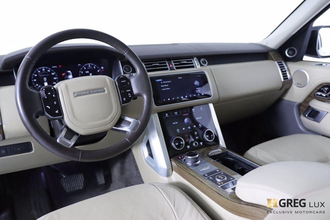 2018 Land Rover Range Rover 5.0L V8 Supercharged #1
