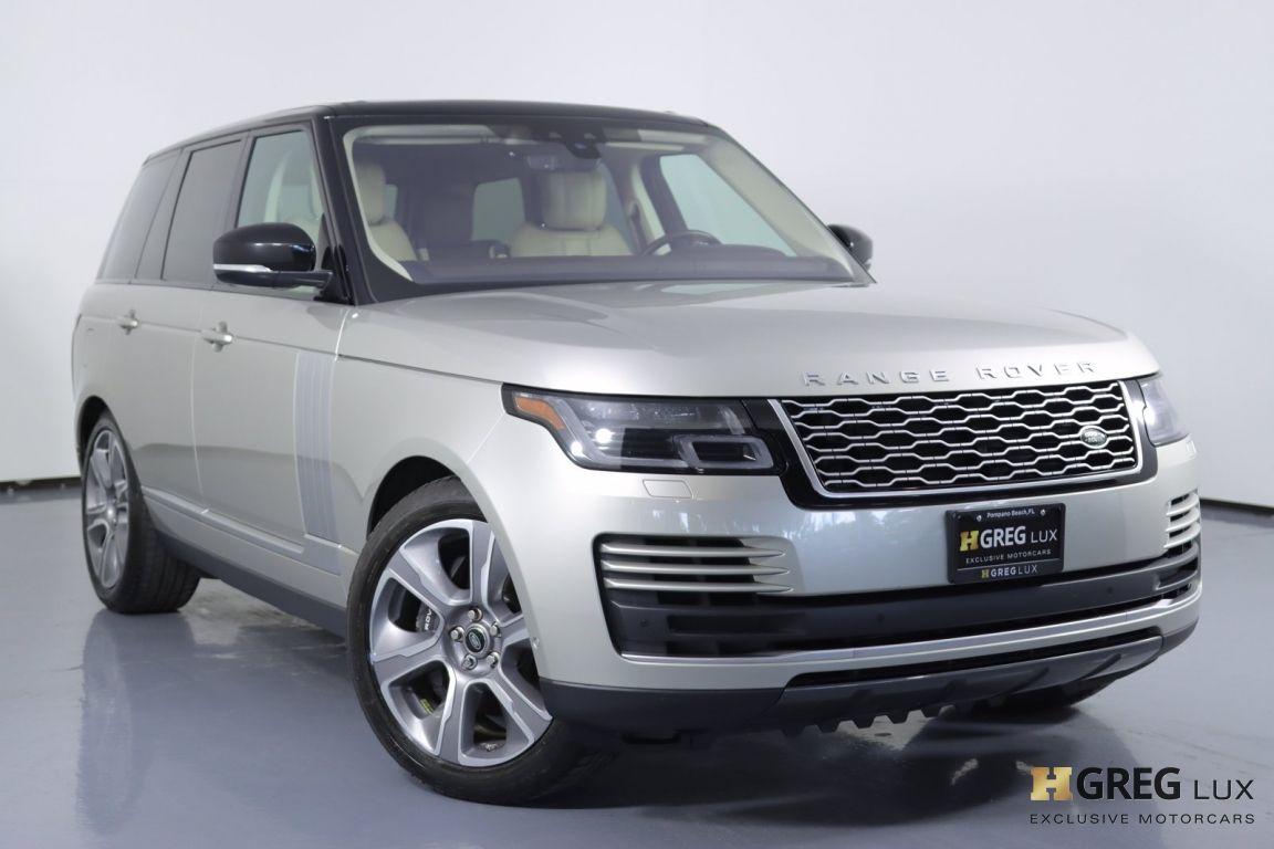 2018 Land Rover Range Rover 5.0L V8 Supercharged #0