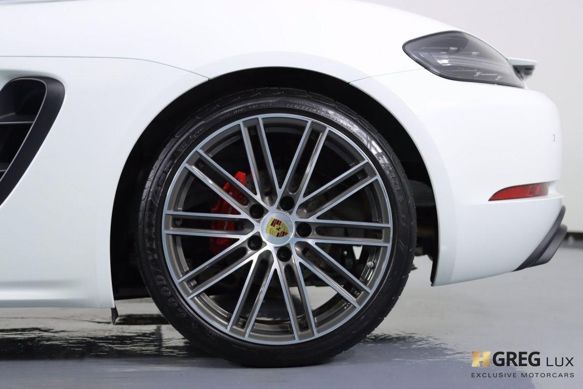 2018 Porsche 718 Cayman GTS #25