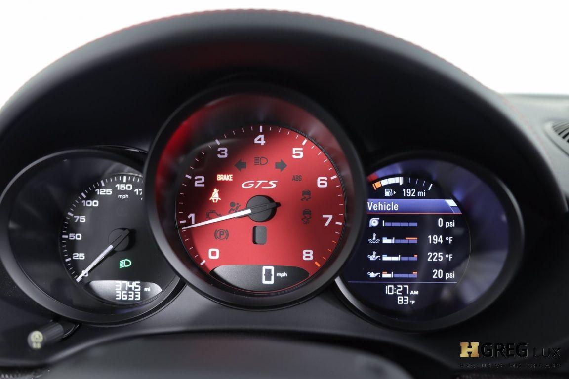 2018 Porsche 718 Cayman GTS #44