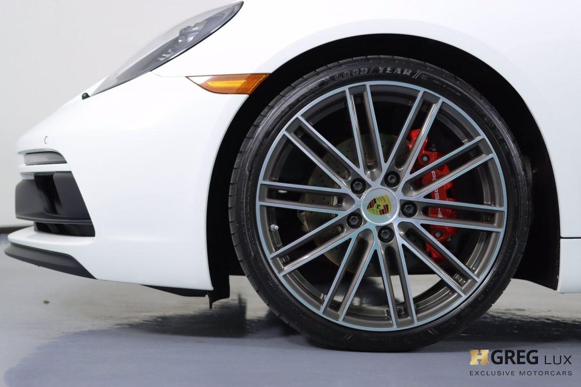 2018 Porsche 718 Cayman GTS #23
