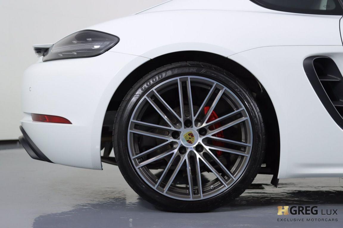2018 Porsche 718 Cayman GTS #13