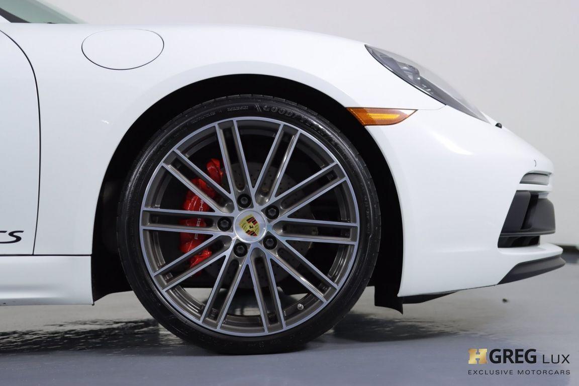 2018 Porsche 718 Cayman GTS #11