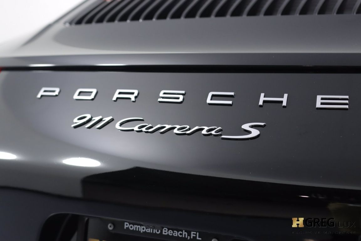 2017 Porsche 911 Carrera S #19