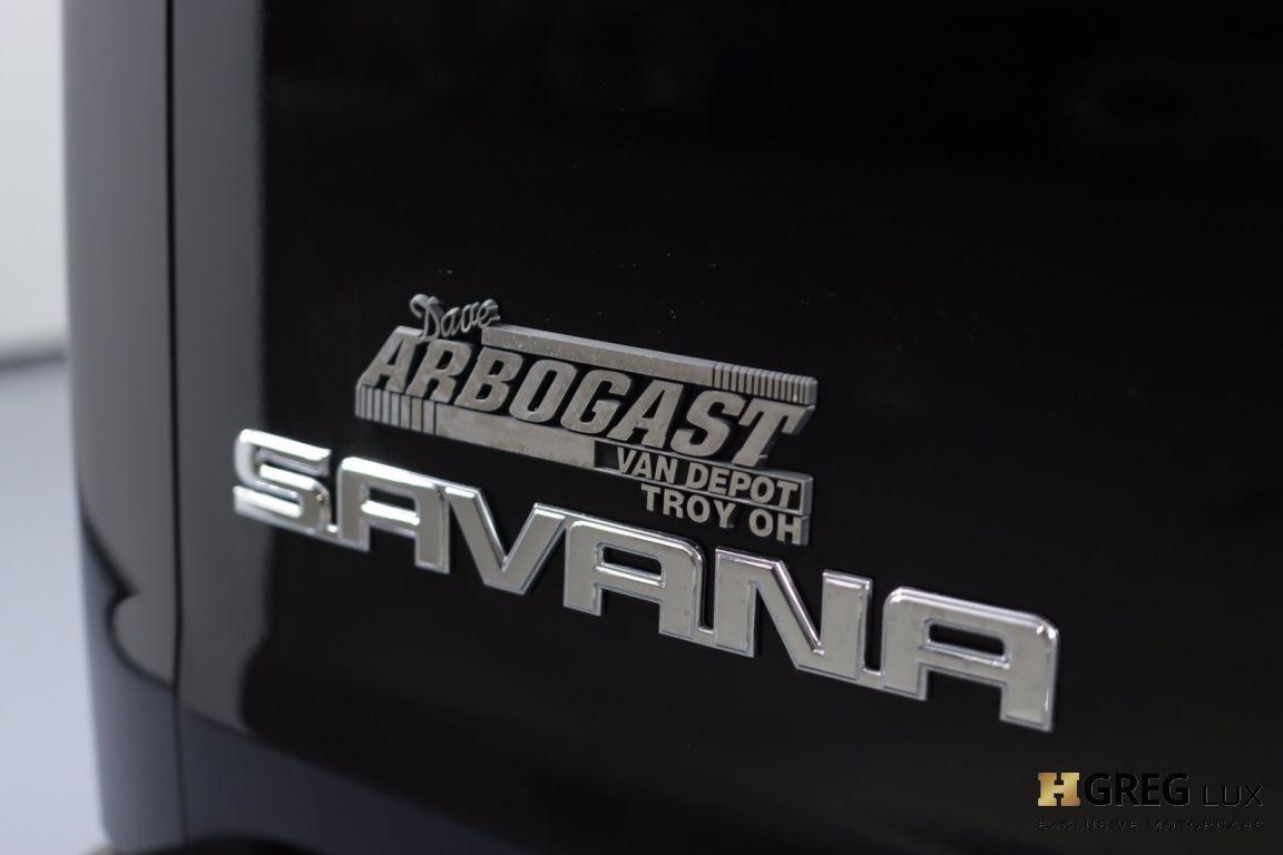2019 GMC Savana Cargo Van Work Van #20