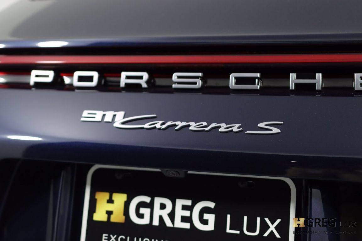 2021 Porsche 911 Carrera S #22