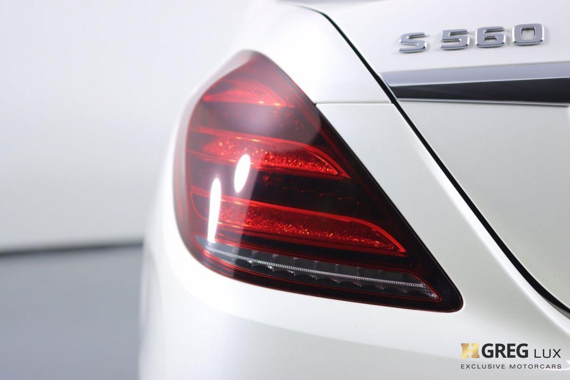 2018 Mercedes Benz S Class S 560 #17