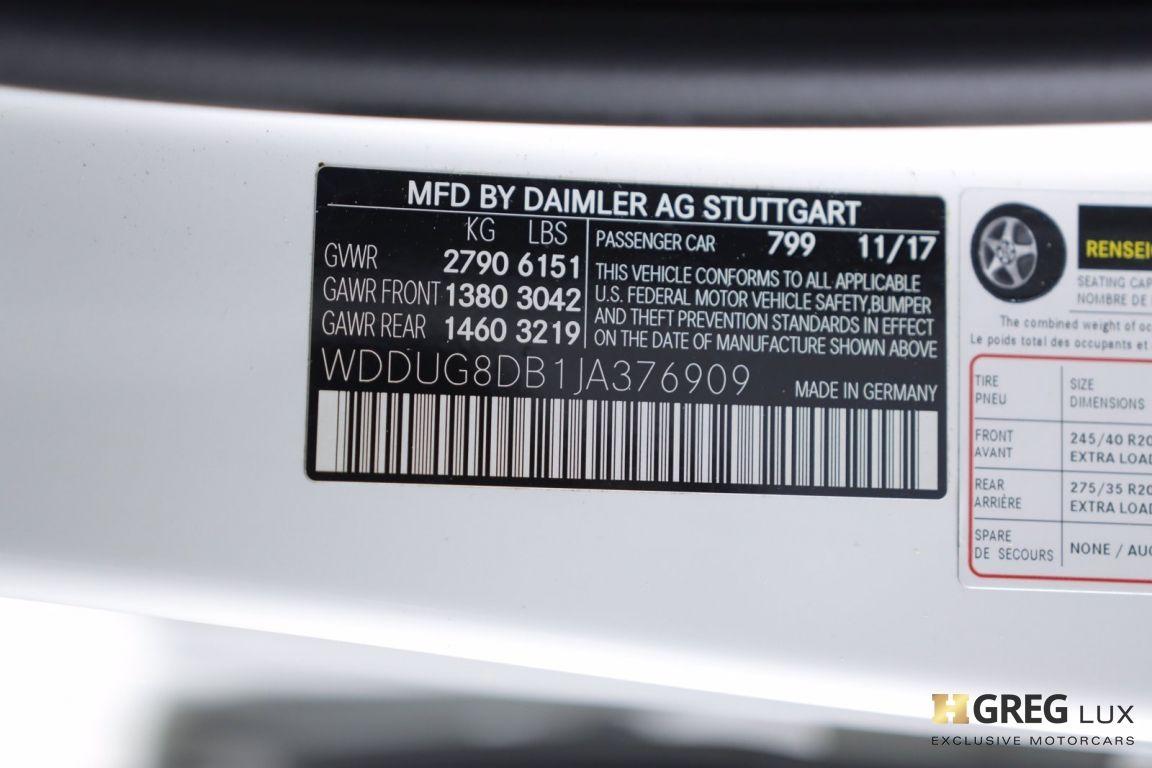 2018 Mercedes Benz S Class S 560 #53