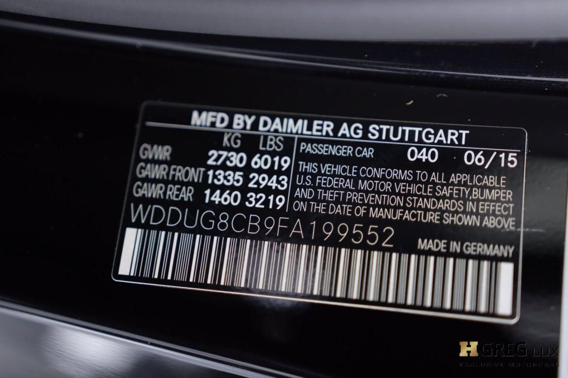 2015 Mercedes Benz S Class S 550 #48
