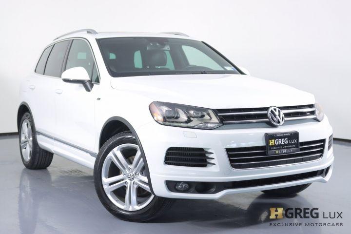 2014 Volkswagen Touareg Deisel R-Line #0