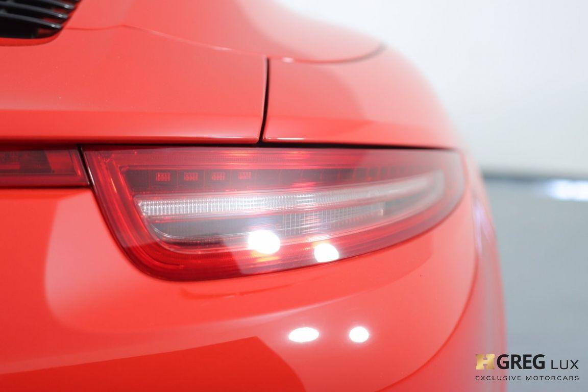 2016 Porsche 911 Targa 4 GTS #18