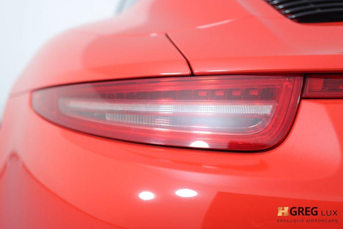 2016 Porsche 911 Targa 4 GTS #17