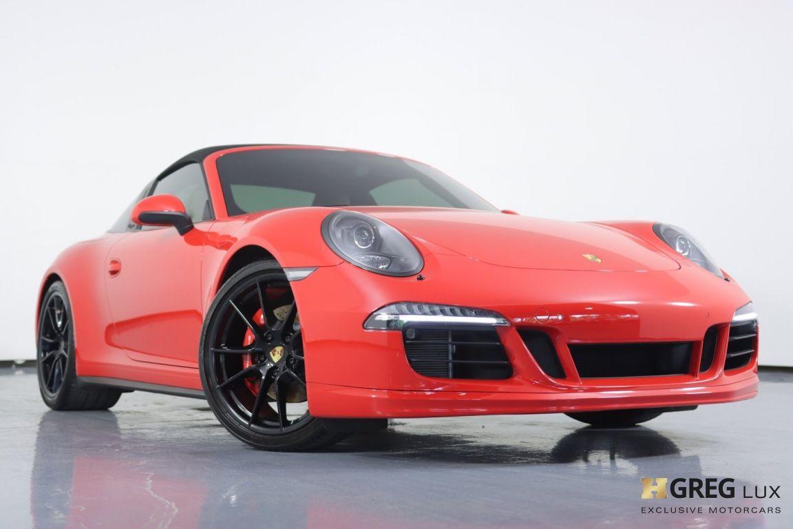 2016 Porsche 911 Targa 4 GTS #3