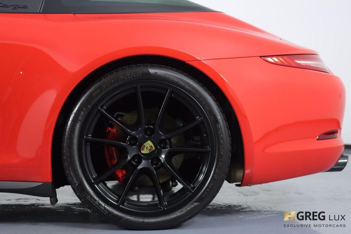2016 Porsche 911 Targa 4 GTS #24