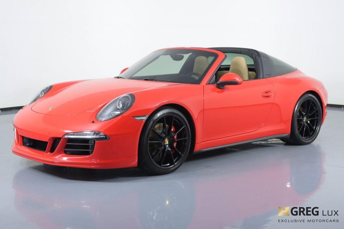 2016 Porsche 911 Targa 4 GTS #26