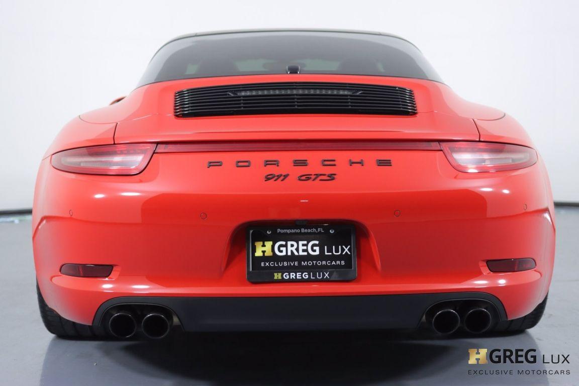 2016 Porsche 911 Targa 4 GTS #16