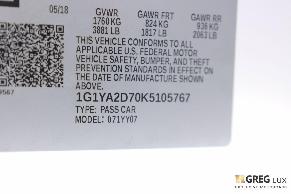 2019 Chevrolet Corvette 1LT #48
