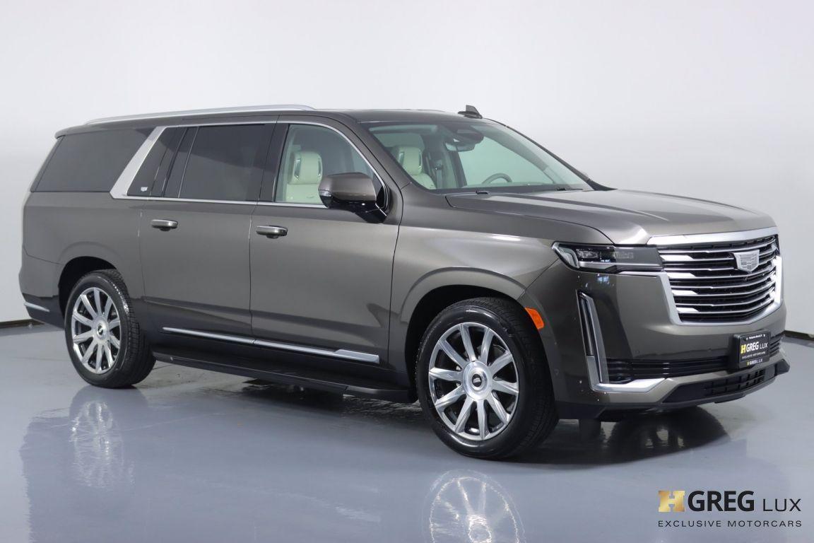 2021 Cadillac Escalade ESV Premium Luxury Platinum #10