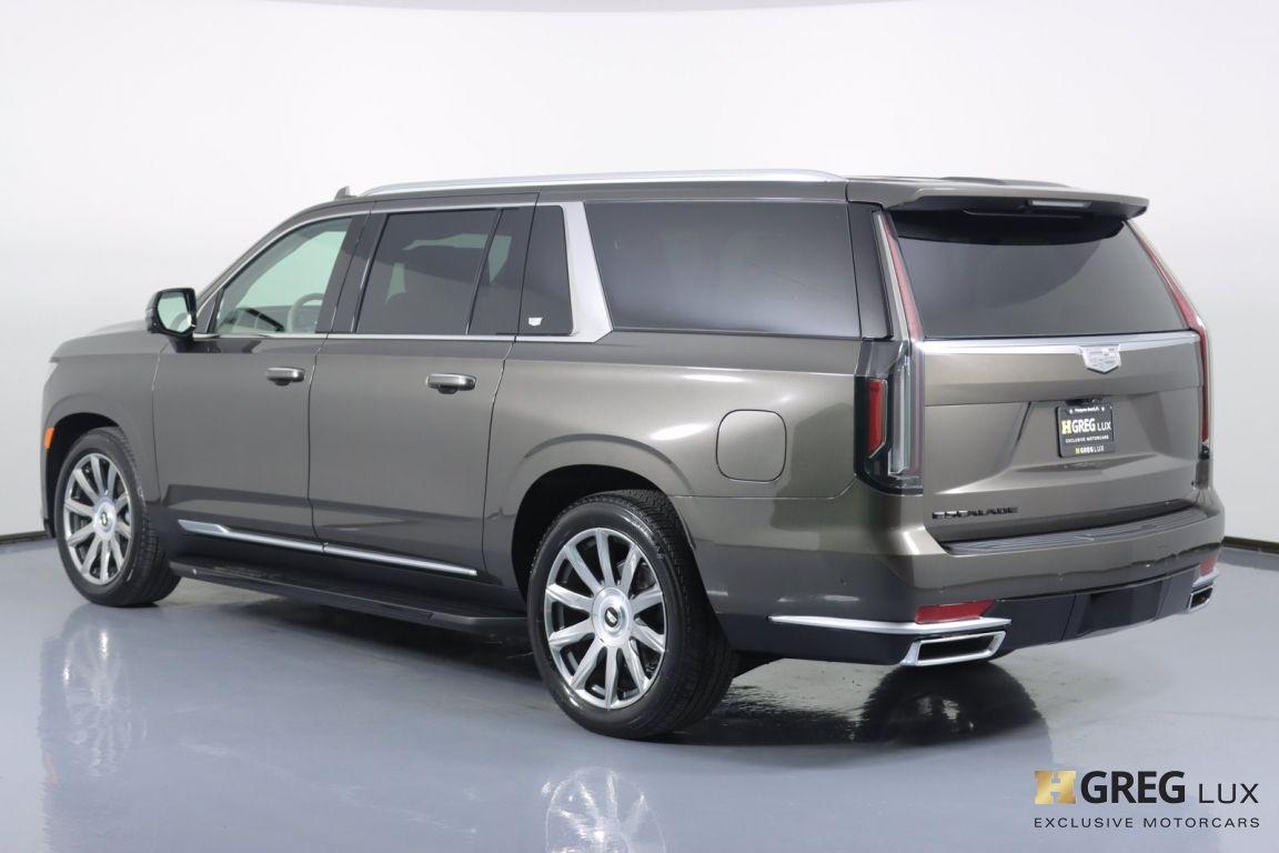 2021 Cadillac Escalade ESV Premium Luxury Platinum #22